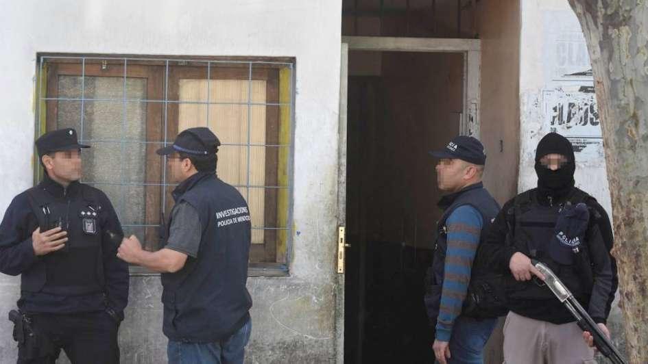 Allanaron casa en Rioja y Alberdi, en la Cuarta Sección