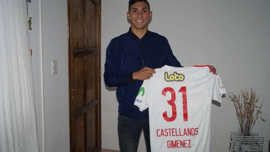 Valentín Castellanos, una promesa del fútbol mendocino que crece en la U de Chile