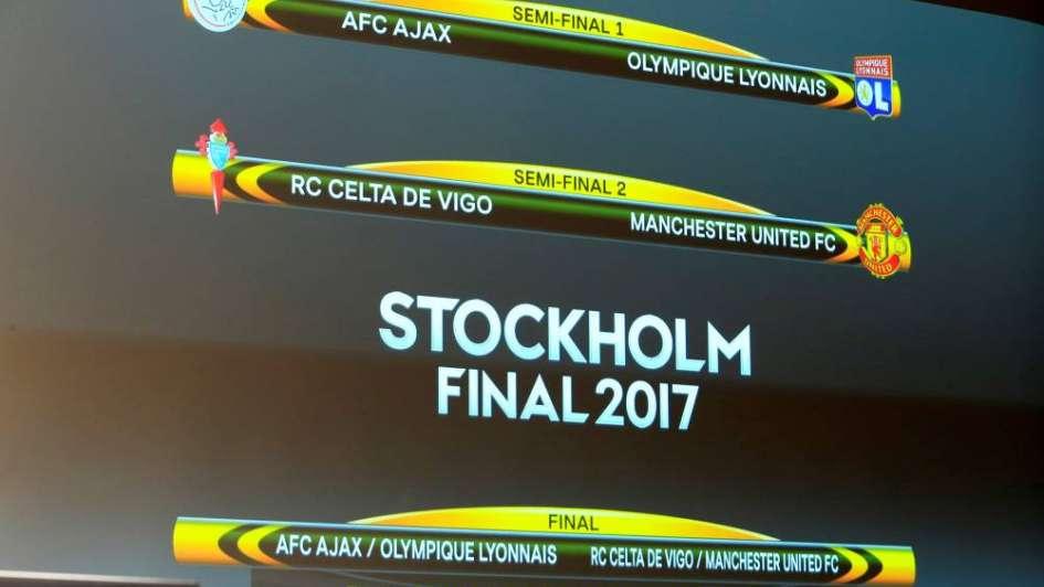 La Europa League ya tiene también los cruces de semifinales