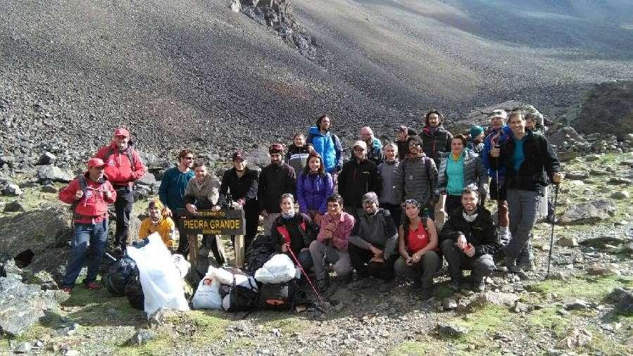 Recolectaron más de 300 kilos de basura en el Parque Provincial Cordón del Plata