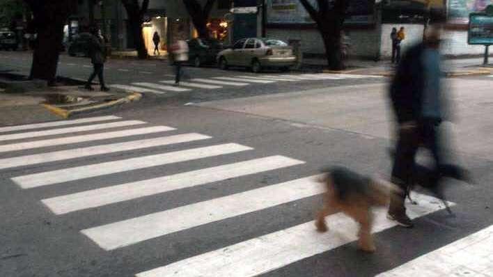Habilitan cruce de calle 25 de Mayo de Ciudad