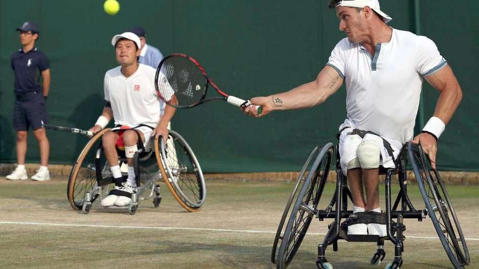 """""""Lobito"""" Fernández perdió la final de tenis adaptado en Wimbledon"""