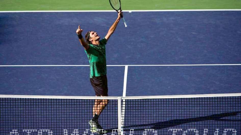 Federer sumó su título noventa