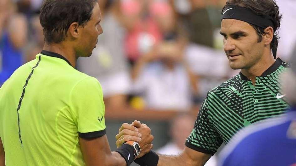 Federer derrotó a Nadal en un duelo de titanes