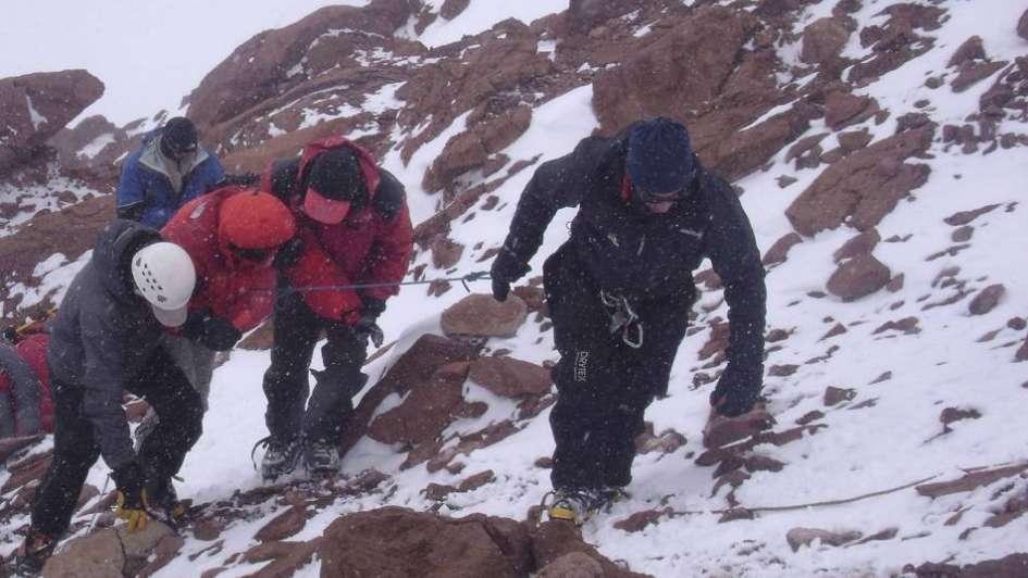 En lo que va de la temporada se realizaron 122 evacuaciones en el Aconcagua