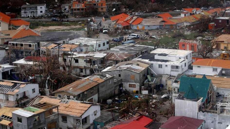 La destrucción de Irma en el Caribe: no hay agua, ni comida