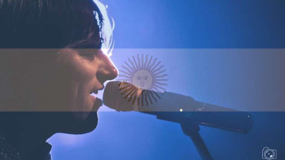 Un joven no vidente cantará el Himno en Argentina-Perú