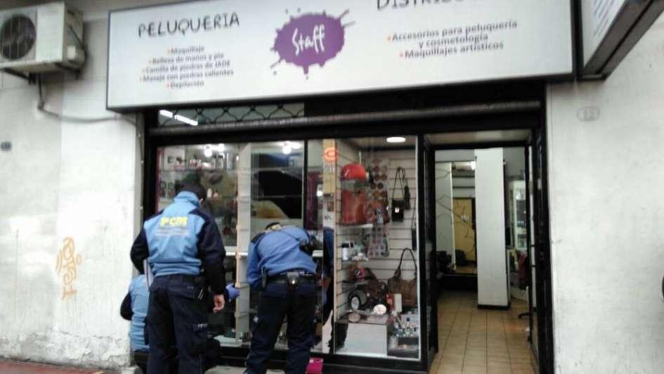 Por segunda vez en tres meses robaron una peluquería céntrica