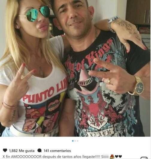El reencuentro de Mónica Farro con Juan Suris, tras ser excarcelado