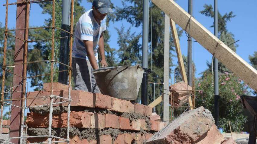 Creció 8,1% la construcción  en Mendoza en el semestre