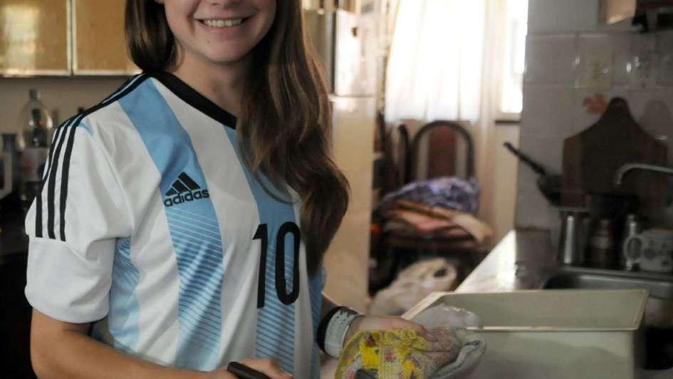 """Estefanía Banini: """"El fútbol femenino necesita apoyo de AFA"""""""