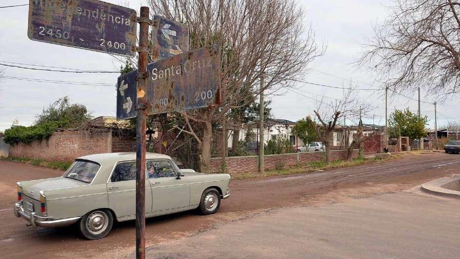 San Rafael: reclaman final de obra de asfalto en Pueblo Diamante