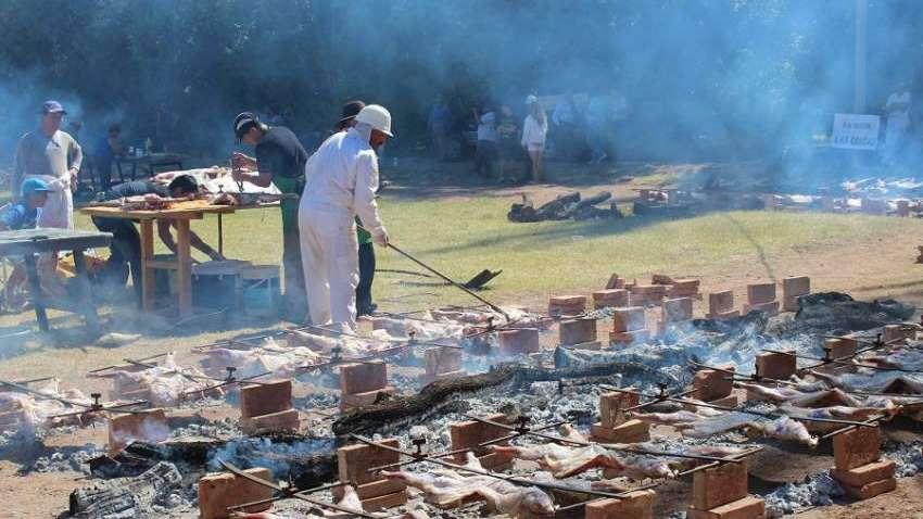 Rompieron parte de la infraestructura que se usó en la Fiesta Nacional del Chivo