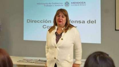 Mónica Lucero de Nofal, directora de Defensa del Consumidor