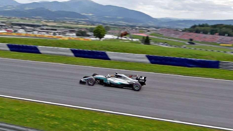 Valtteri Bottas, poleman  en el GP de Austria