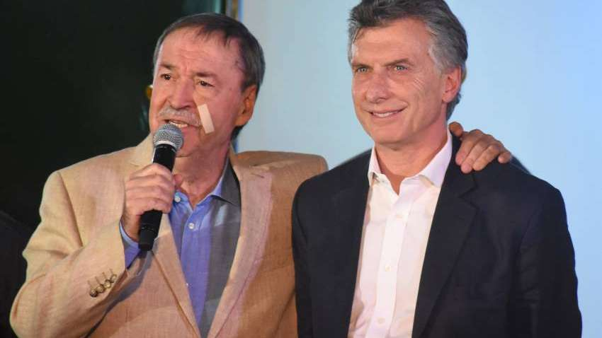 Macri con Schiaretti en Córdoba: