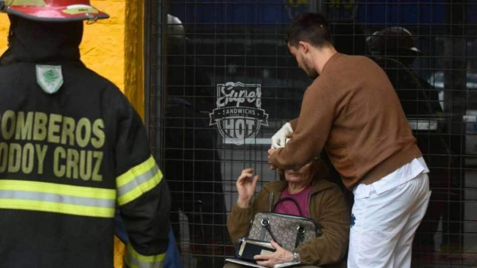 Un herido leve en un triple choque en Godoy Cruz