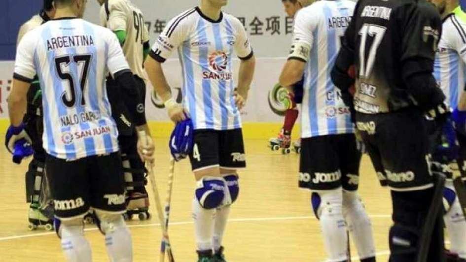 Angelo Guirao atajó el sueño argentino en los Roller Games