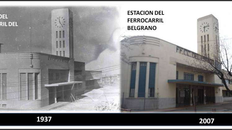 La Estación Belgrano en Guaymallén