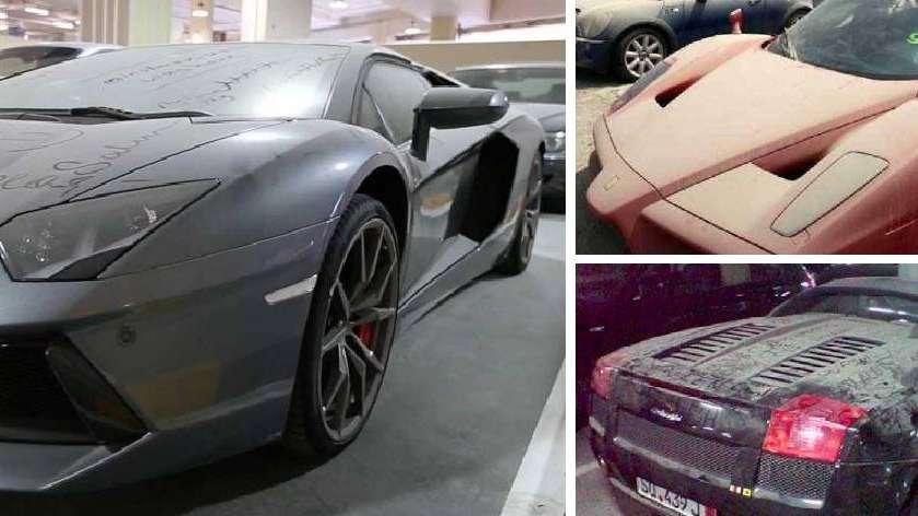 Por Que Hay Miles De Autos De Lujo Abandonados En Las Calles De Dubai