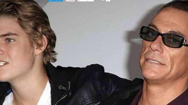 El hijo de Jean-Claude Van Damme, detenido por golpear y amenazar con un cuchillo a un amigo