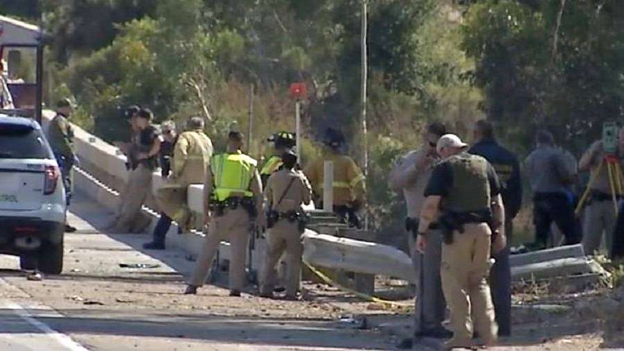 Una mujer y dos hombres murieron mientras escapaban de una patrulla fronteriza