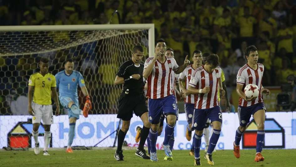 Paraguay venció a Colombia y le dio una luz de esperanza a Argentina