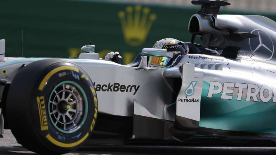 Fórmula 1: Hamilton fue el más rápido en las pruebas del GP de Emiratos