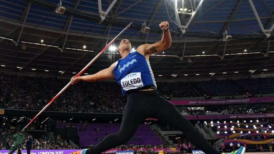 Mundial de Atletismo: para Braian Toledo no hubo clasificación