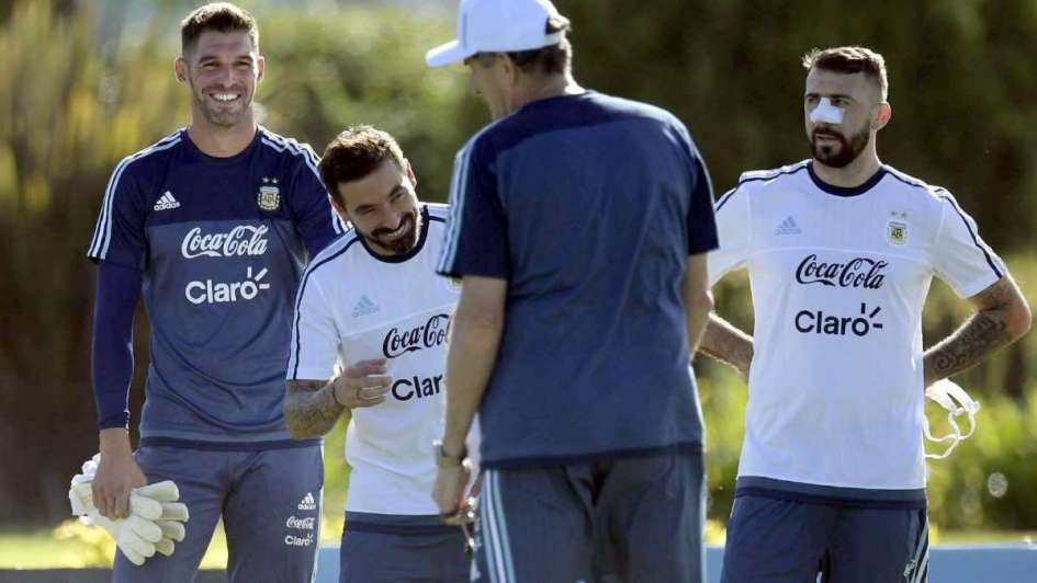 Selección Argentina: primera práctica sin Zabaleta