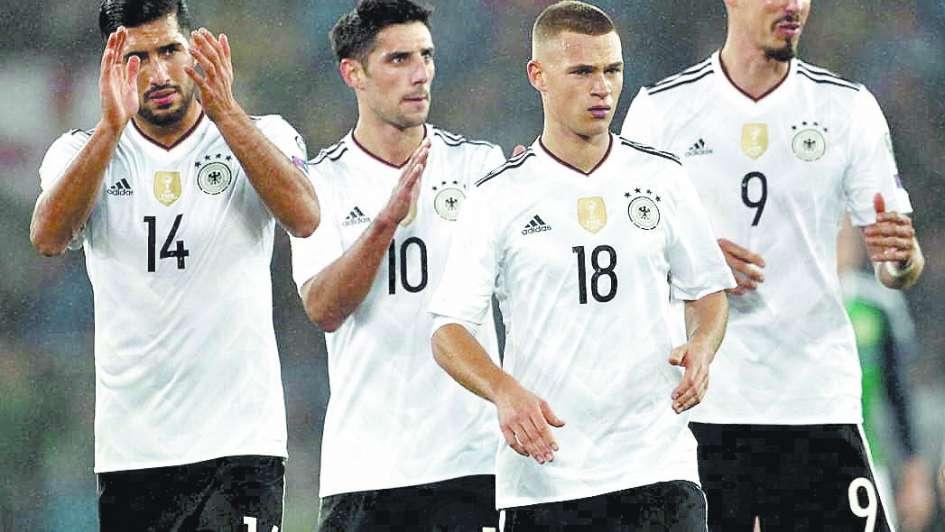 Alemanes e ingleses con boleto para Rusia 2018