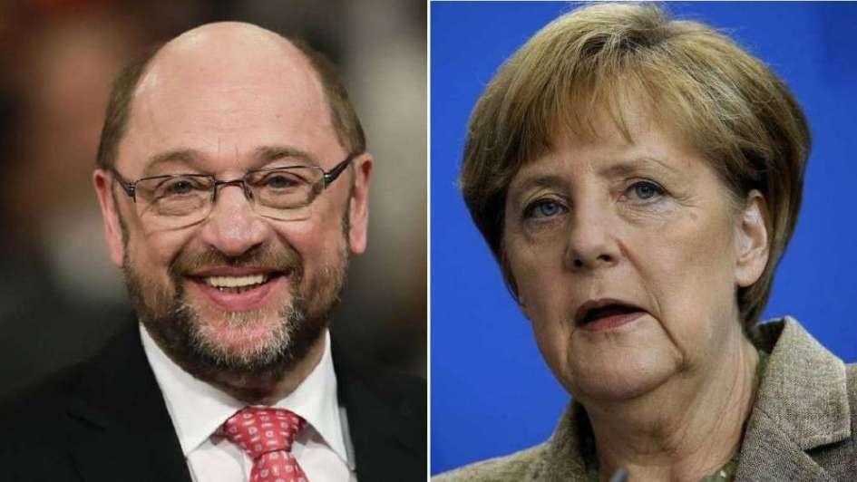 Schulz enfrentará a Merkel en comicios de Alemania