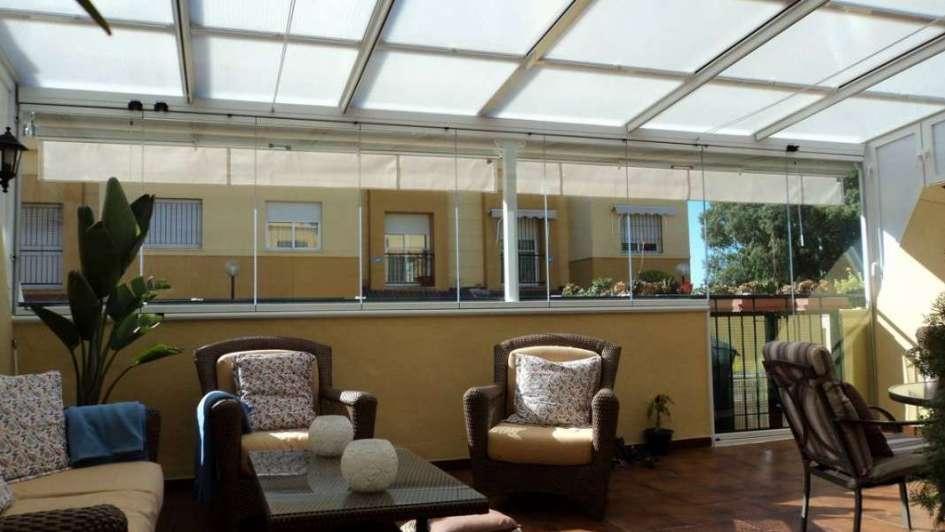Techos transparentes admir el cielo desde tu terraza - Nebulizadores para terrazas baratos ...