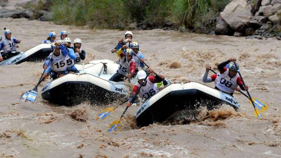 Rafting: los campeones bajarán el Tunuyán