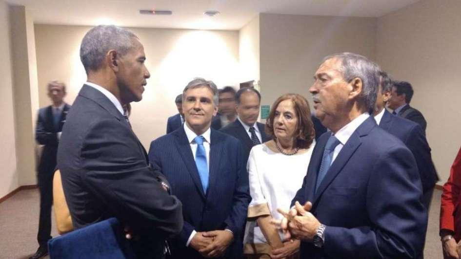 Obama destacó en Córdoba que Macri