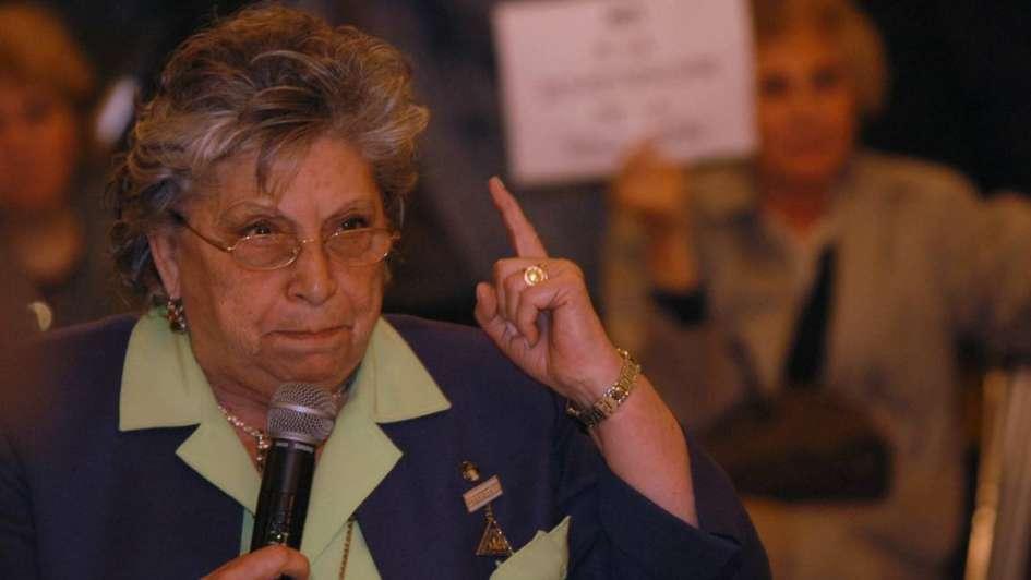 Murió Lita de Lazzari a los 89 años