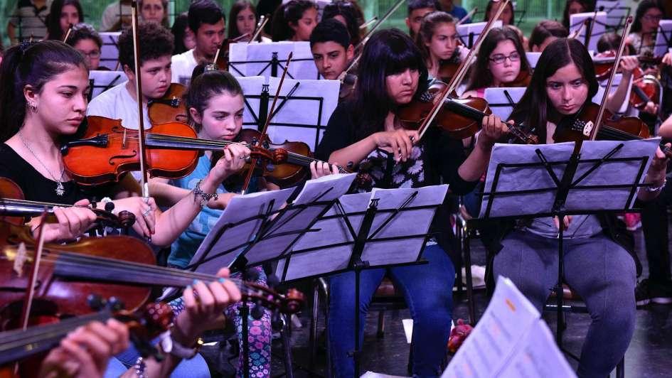 Música inclusiva: la orquesta infantil de San Martín que sueña en grande
