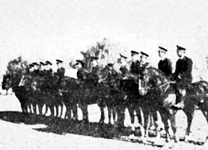 Efemérides 7 de octubre  de 1941: El capitán Tula ganó un concurso de saltos