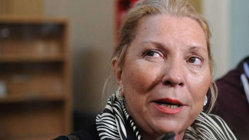 Carrió denunció penalmente a Arribas por el caso de sobornos de Odebrecht