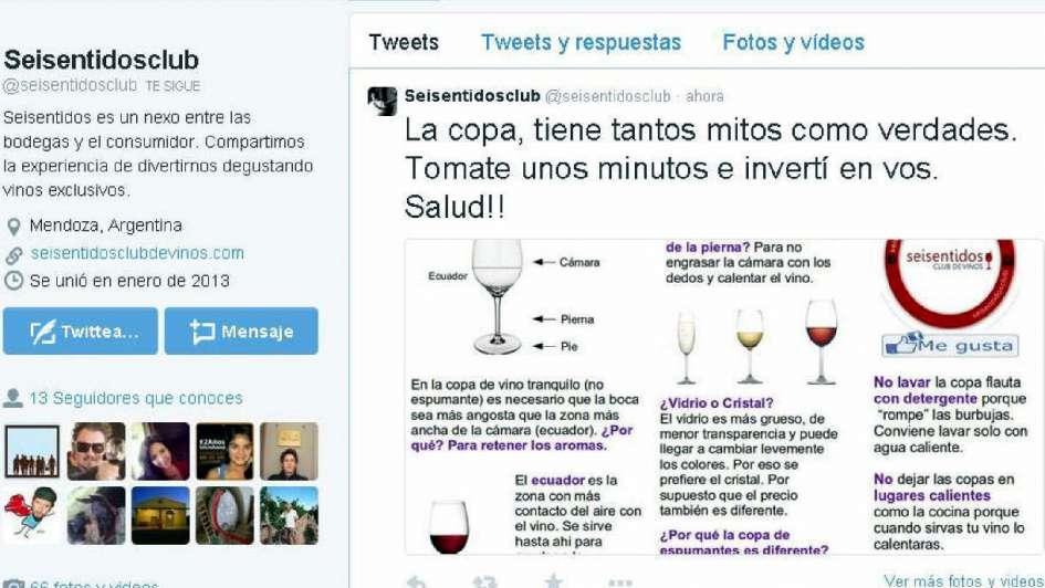 El proceso del vino se sube a las redes