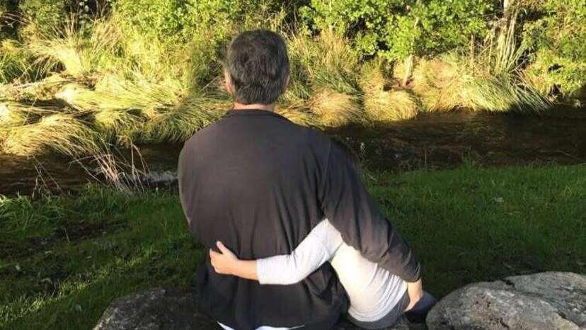 Macri saludó a los papás junto a Antonia