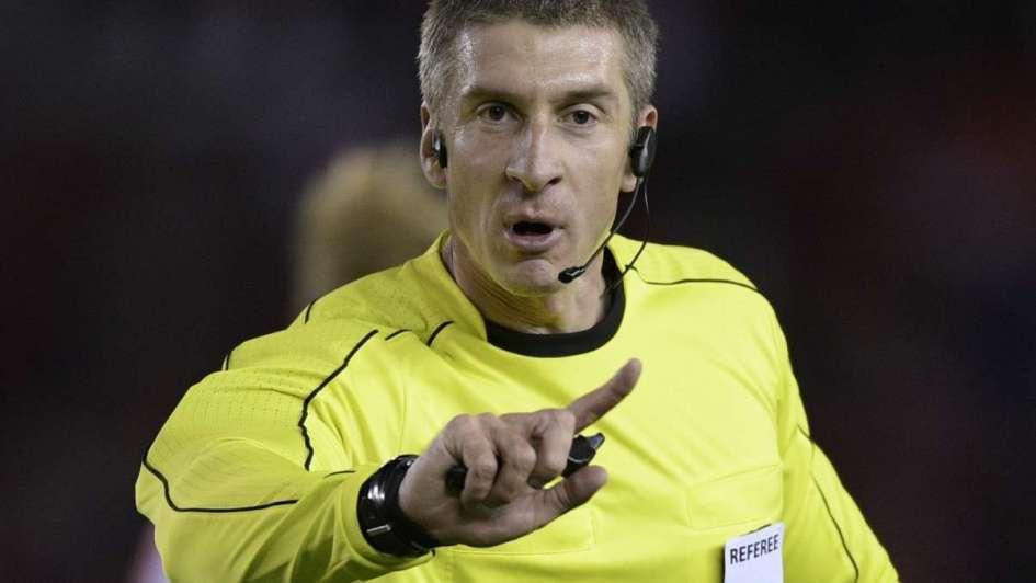 El brasileño Anderson Daronco será el árbitro del encuentro de Argentina frente a Ecuador
