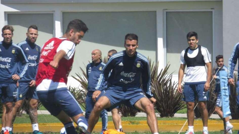 La Selección se entrenó en Ezeiza con Ecuador en la mente