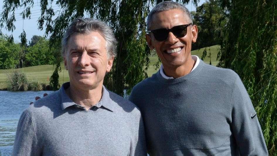 Charlas y golf: así fue el encuentro entre Mauricio Macri y Barack Obama