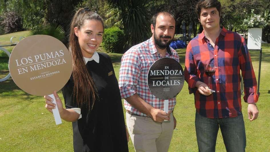 Los Pumas y un cóctel Vip de Estancia Mendoza
