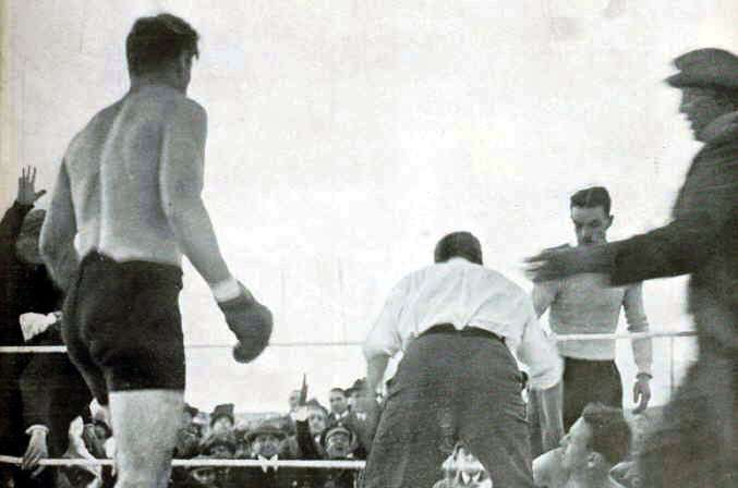 Efemérides 8 de octubre  de 1922: Luis A. Firpo le gana por nocaut a Jim Tracey