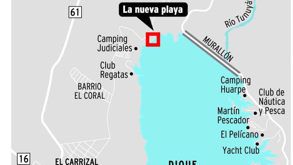 Reabre la playa de Luján con mejoras y espectáculos