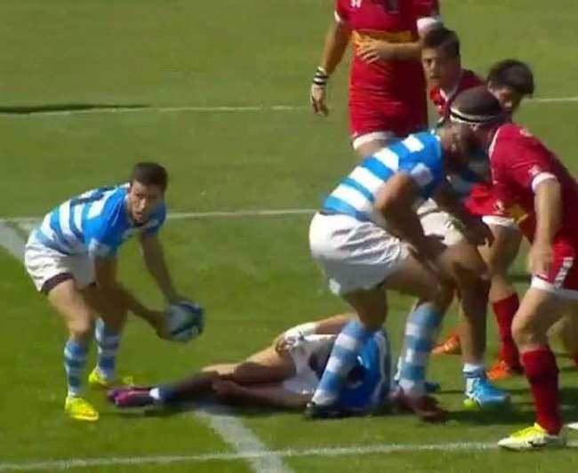 Debut y goleada de Argentina XV