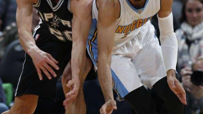 NBA: Ginóbili aportó 11 puntos en el triunfo de los Spurs ante Denver