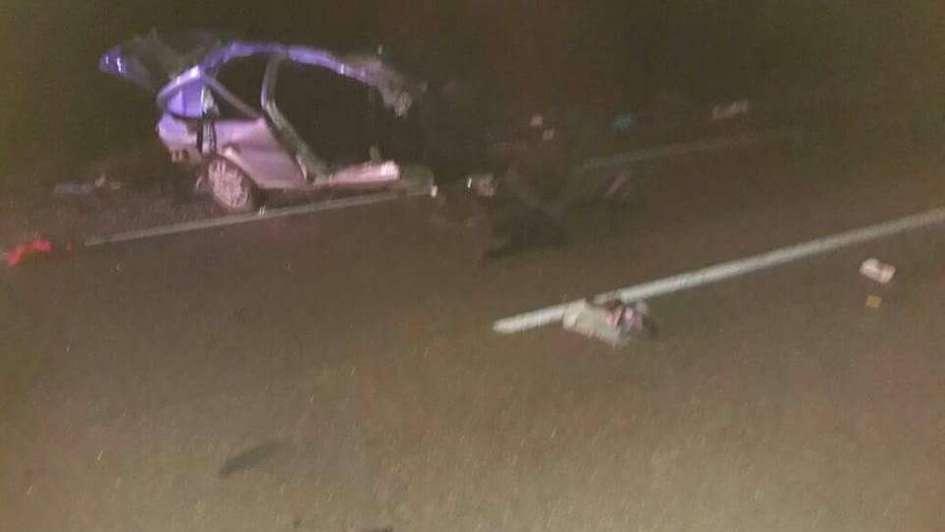 Santa Rosa: murieron 4 personas en un choque frontal entre un camión y un auto
